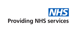 NHS Logo with descriptor Providing NHS Services